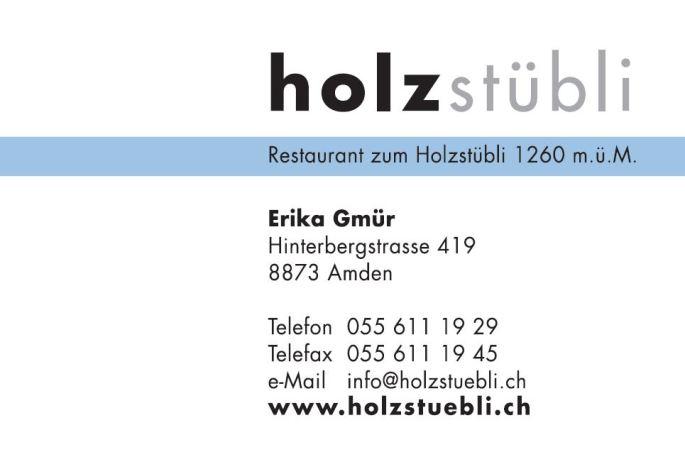 Restaurant Holzstübli